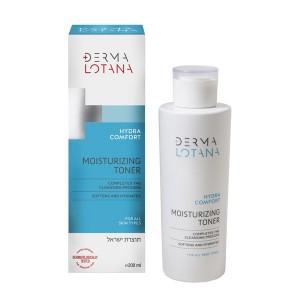 DERMA Lotana Hydra comfort drėkinamasis veido tonikas, 200 ml