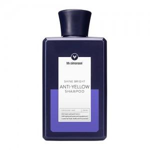 HH Simonsen Anti-Yellow Šampūnas šviesintiems plaukams, 250ml