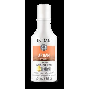 INOAR Argan Infusion Perfect Curls Shampoo - šampūnas tobuloms garbanoms, 250 ml