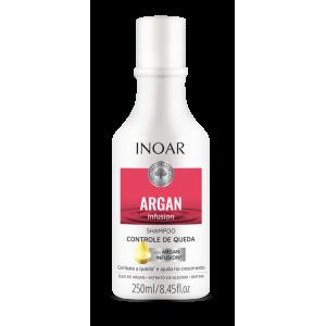 INOAR Argan Infusion Loss Control Shampoo - šampūnas stabdantis plaukų slinkimą, 250 ml