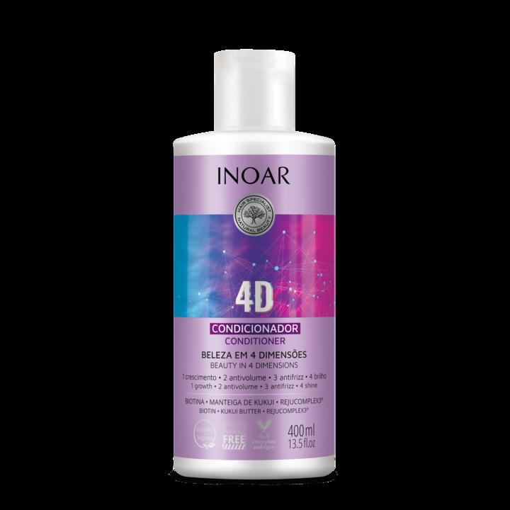 INOAR 4D Conditioner - 4 dimensijų kondicionierius, 400 ml