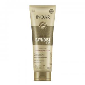 INOAR Absoliut Daymoist Shampoo - šampūnas chemiškai pažeistiems plaukams, 240 ml