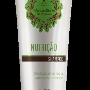 INOAR Macadamia Shampoo Šampūnas su makadamijos aliejumi, 240 ml