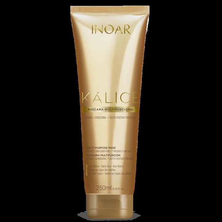 INOAR Kalice Multi-purpose Mask - daugiafunkcinė plaukų kaukė, 250 ml