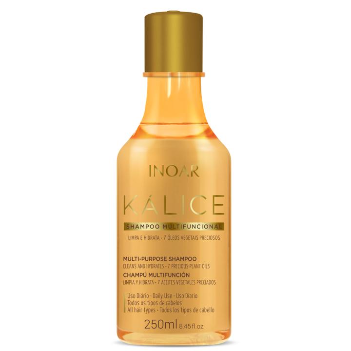 INOAR Kalice Multi-purpose Shampoo - daugiafunkcis plaukų šampūnas, 250 ml