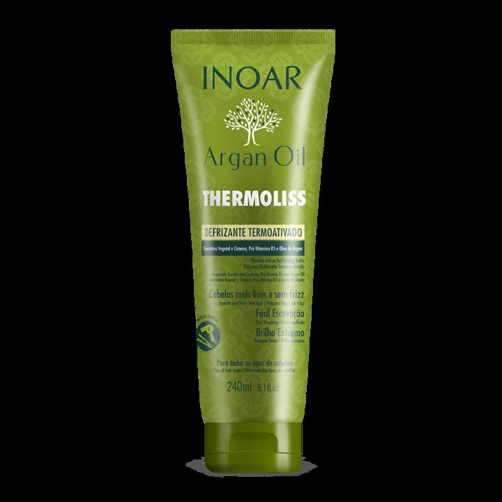 INOAR Thermoliss Thermo-Active Balm - apsaugantis nuo karščio, glotninantis balzamas, 250 ml