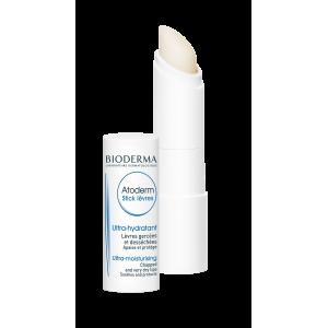 BIODERMA drėkinamasis lūpų pieštukas ATODERM, aviečių kvapo, 4 g