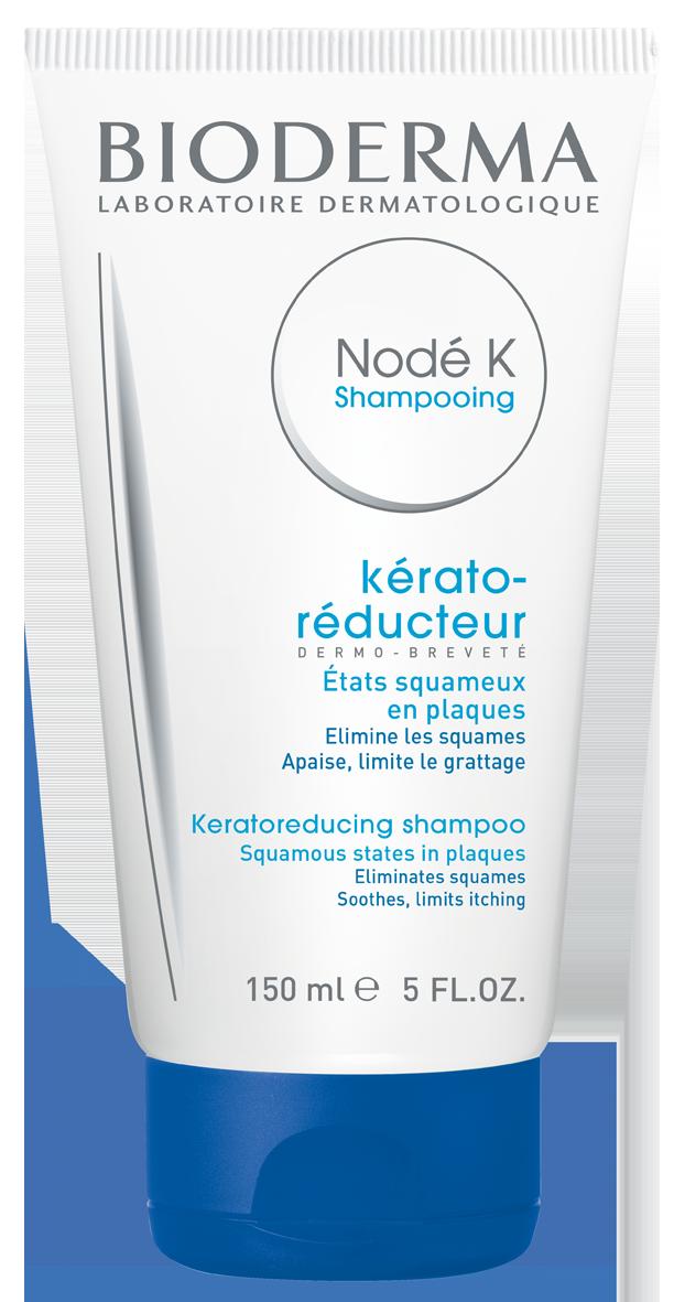 BIODERMA keratolitinis šampūnas nuo stipraus pleiskanojimo ir niežulio NODE K, 150 ml