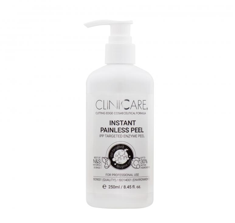 CLINICARE Instant Painless Peel Greito poveikio pilingo gelis, 250 ml