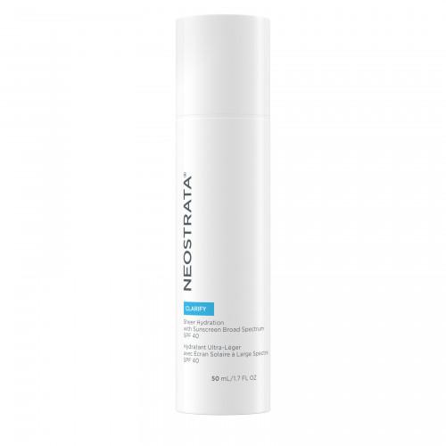 Neostrata Clarify Sheer Hydration Drėkinamoji emulsija veidui SPF40, 50 ml
