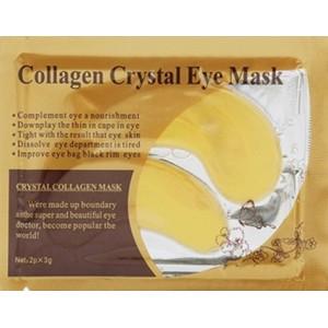 Auksinė paakių kolageno kaukė Crystal Collagen Gold Powder Eye Mask, 2 vnt. x3 g.