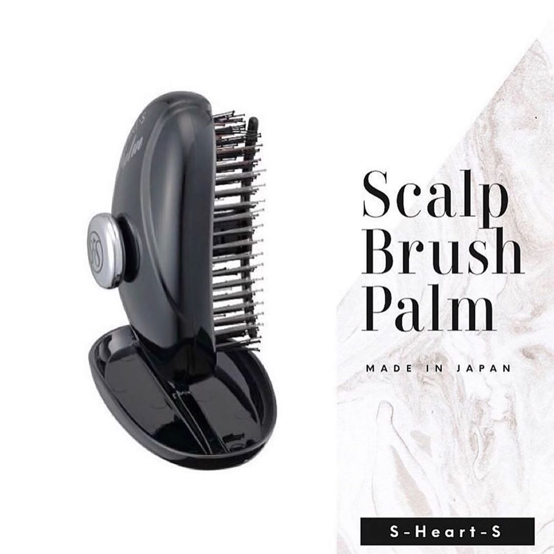S-HEART-S Šepetys Scalp Brush PALM, 1 vnt.
