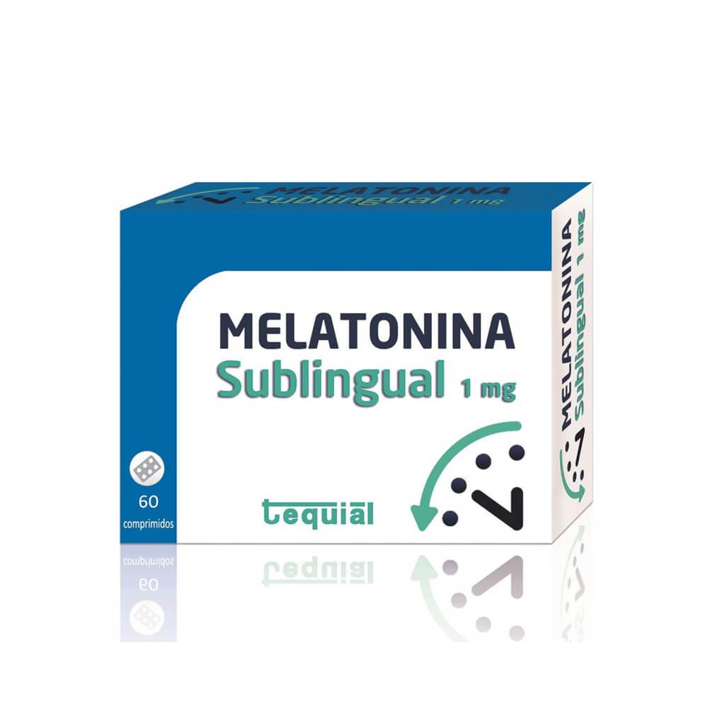 MELATONINA Sublingual maisto papildas su melatoninu, vitaminais ir saldikliais, 60 tablečių