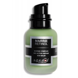 A.G.E STOP MARINE RETINOL S biologiškai aktyvus atkuriamasis SOS veido balzamas su jūriniu retinoliu