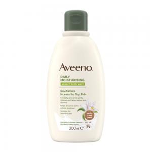 AVEENO® kasdienis drėkinamasis jogurtinis kūno prausiklis, vanilės ir avižų kvapo, 300 ml