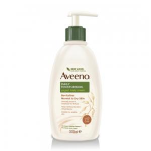AVEENO® kasdienis drėkinamasis jogurtinis kūno kremas, vanilės kvapo, 300 ml