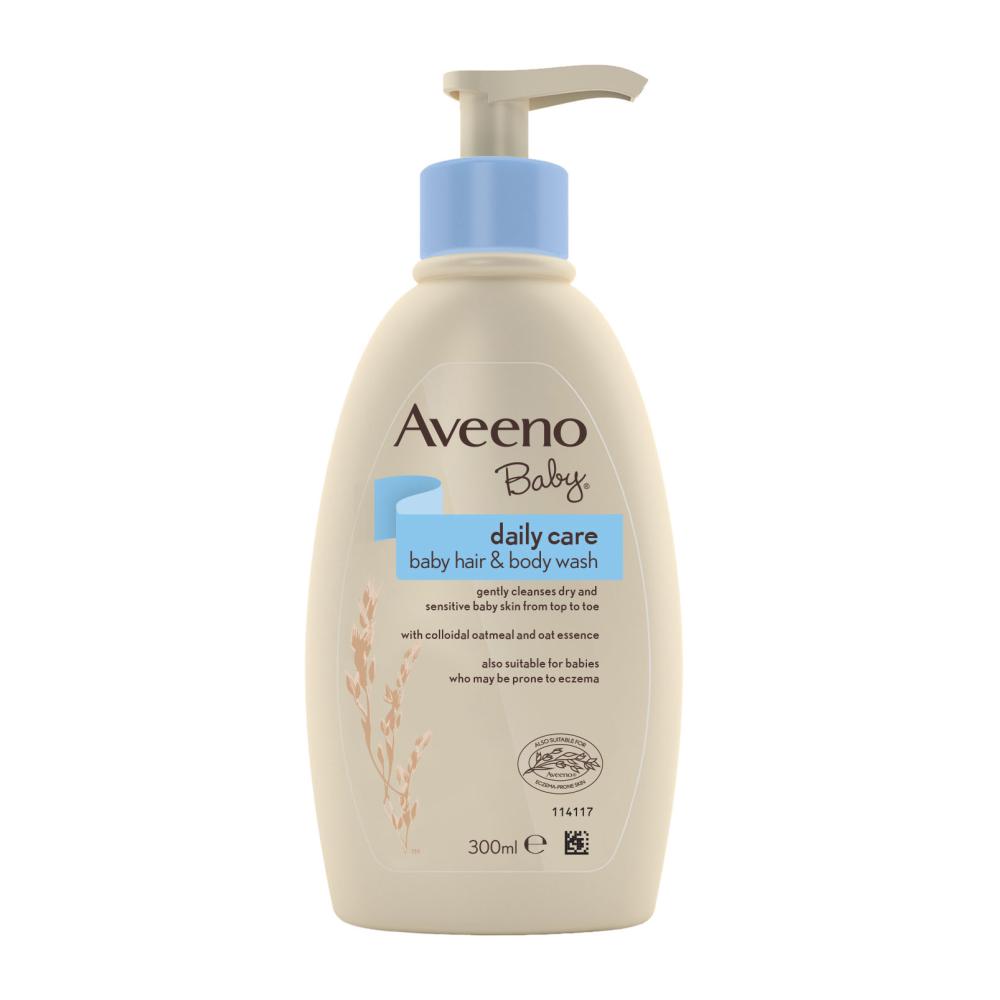 AVEENO® kasdienis plaukų ir kūno prausiklis kūdikiams, 300 ml