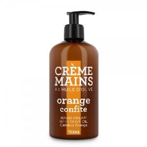 CDP rankų kremas su alyvuogių aliejumi, karamelizuotų apelsinų kvapo, 300 ml