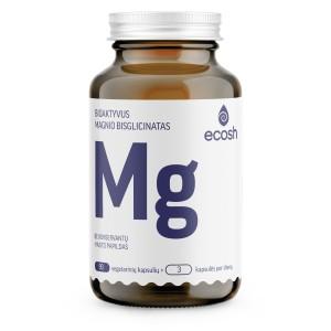 ECOSH bioaktyvus Magnis su vitaminais C ir B6, 90 kapsulių