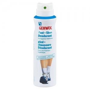 GEHWOL Foot+Shoe Deodorant Pėdų ir batų dezodorantas, 150ml