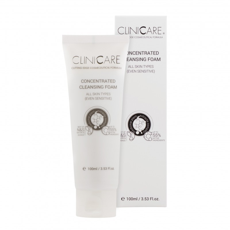 Clinicare Koncentruotas putojantis prausiklis | CONCENTRATED CLEANSING FOAM, 100 ml