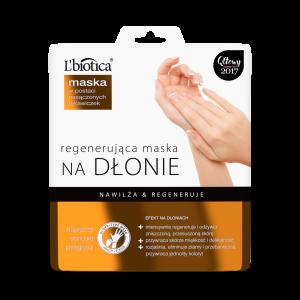 L'BIOTICA atkuriamoji drėkinamoji rankų kaukė-pirštinės, 26 ml (1 pora)