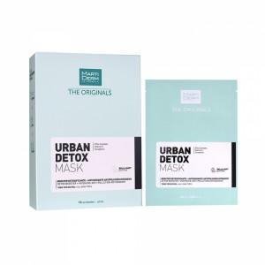 MARTIDERM detoksikuojamoji veido kaukė URBAN DETOX, 1 vnt.