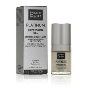 MARTIDERM gelinis kremas akių ir lūpų kontūrui EXPRESSION, 15 ml