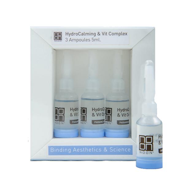 NOON Hydrocalming amp; Vit Complex ampulės, 3x5 ml