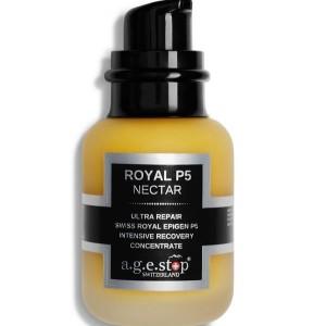 A.G.E STOP ROYAL P5 Nectar Intensyviai drėgmę atstatantis veido koncentratas , 60 ml